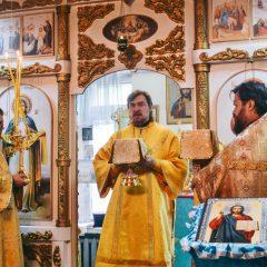 Преосвященный Алексий совершил Литургию в Нижней Туре