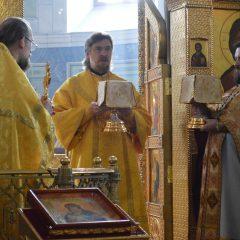 Преосвященный Алексий совершил Литургию в день памяти свт. Луки Войно-Ясенецкого