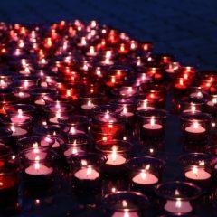 В Серове прошла мемориальная акция «Свеча памяти»