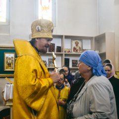 Преосвященный Алексий возглавил Литургию в день памяти святителя Иоанна Тобольского