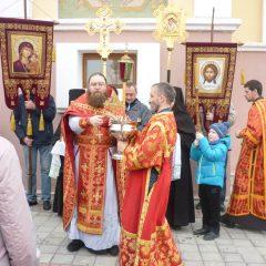 Крестные ходы от Пасхи до Вознесения – традиция в монастыре