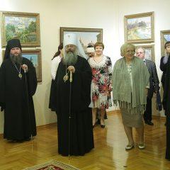 Преосвященный Алексий принял участие в открытии выставки в Екатеринбурге