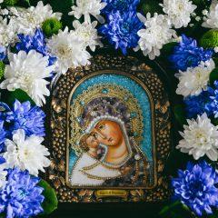 Преосвященный Алексий совершил Литургию в день памяти Игоревской иконы Божией Матери