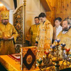 Преосвященный Алексий совершил Литургию в Сосьве