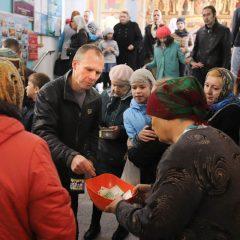 В храме Максима Исповедника прошел сбор средств к Международному Дню детей