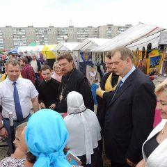 На Преображенской площади Серова открылась I православная ярмарка