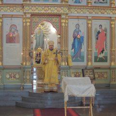 Преосвященный Алексий совершил Литургию в кафедральном соборе Серова