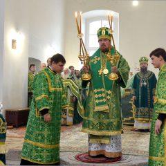 Преосвященный Алексий принял участие в юбилейных мероприятиях Скорбященской обители Нижнего Тагила