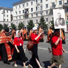 Преосвященный Алексий возглавил малый крестный ход в Екатеринбурге