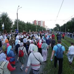Более 100 000 человек приняли участие в Царском крестном ходе