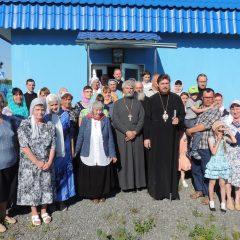 Преосвященный Алексий совершил Всенощное бдение в Полуночном