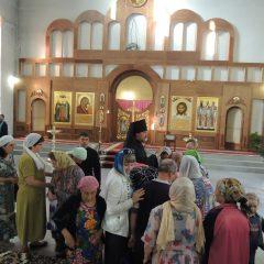 Преосвященный Алексий совершил Всенощное бдение в канун чествования Казанской иконы Божией Матери