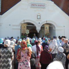 Преосвященный Алексий совершил Литургию в праздник Казанской иконы Божией Матери