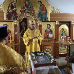 Преосвященный Алексий совершил Всенощное бдение в канун памяти первоверховных апостолов