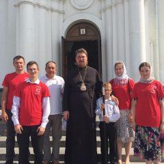 Преосвященный Алексий совершил Литургию в День Крещения Руси