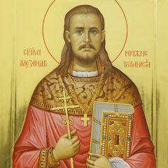 В посёлке Ис закончили написание иконы святого Александра Нижнетуринского