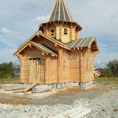 В Воронцовке идет строительство православного храма