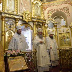 «Найти путь к своему Преображению»: Митрополит Кирилл совершил Божественную литургию накануне XIV Съезда православных учителей