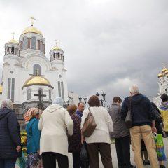 Верующие Серовской епархии приняли участие во встрече великой христианской святыни