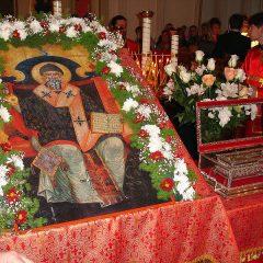 В Екатеринбург прибудет ковчег с мощами святителя Спиридона Тримифунтского