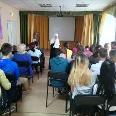 Матушка Мария из Минска пообщалась с серовчанами