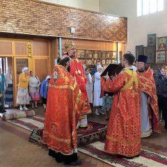 Преосвященный Алексий совершил Литургию в день памяти пророка Божия Илии