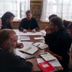В Свято-Пантелеимоновском монастыре прошел епархиальный совет