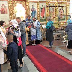 Преосвященный Алексий совершил Литургию в день памяти Семи Эфесских отроков