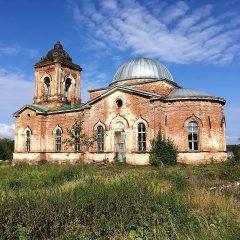 Преосвященный Алексий совершил Литургию в Предпразднство Преображения Господня