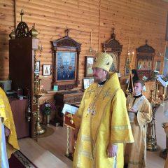 Преосвященный Алексий совершил Литургию в день памяти Соловецких святых