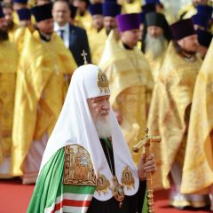 Слово Святейшего Патриарха Кирилла после молебна у памятника святому равноапостольному князю Владимиру в Москве