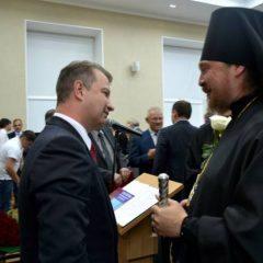 Епископ Алексий поздравил нового мэра Серова