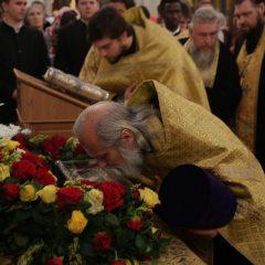 Ивдельчане приложились к мощам святителя Спиридона Тримифунтского