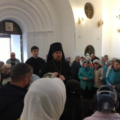 Епископ Алексий совершил Всенощное бдение в канун Рождества Пресвятой Богородицы