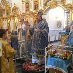 Владыка Алексий совершил Всенощное бдение в Волчанске
