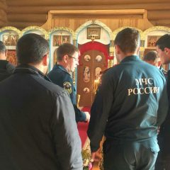 Ивдельские пожарные отметили день своей Небесной Покровительницы