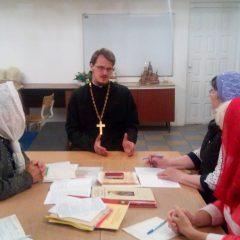 В Серове прошел педагогический совет, посвященный началу учебного года в воскресных школах епархии