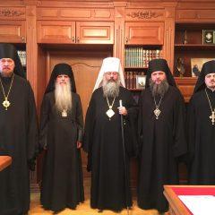 Состоялось очередное заседание Архиерейского совета Екатеринбургской митрополии