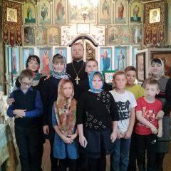 В рамках программы предмета Православной культуры учащиеся посетили храм в Сосьве