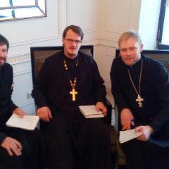 Руководитель епархиального молодёжного отдела принимает участие в московском семинаре