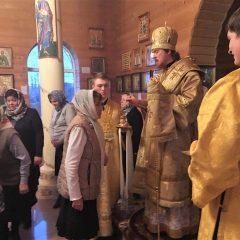 Преосвященный Алексий совершил Всенощное бдение в канун памяти святых отцов VII Вселенского Собора