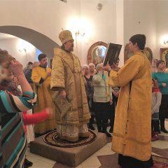 Преосвященный Алексий совершил Литургию в Пелыме