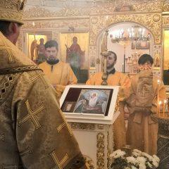 Преосвященный Алексий совершил Всенощное бдение в канун памяти иконы Божией Матери «Спорительница хлебов»