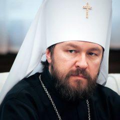 Митрополит Волоколамский Иларион: Патриарх Варфоломей занимается на Украине хищничеством