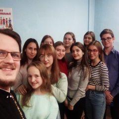 Пресс-конференция с юными журналистами