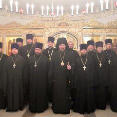 Преосвященный Алексий совершил Литургию в день празднования иконы Божией Матери «Всех скорбящих Радость»