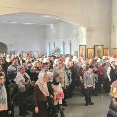 Преосвященный Алексий совершил Литургию в день памяти священномученика Александра Нижнетурьинского