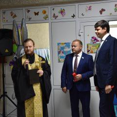 В Сосьве состоялось открытие новой игровой детской комнаты