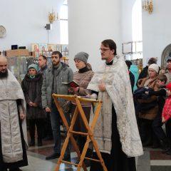 В Спасо-Преображенском кафедральном соборе совершили молебен о семье