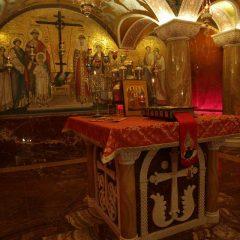 Преосвященный Алексий принял участие в чине Великого освящения «Царской комнаты» в Храме на Крови